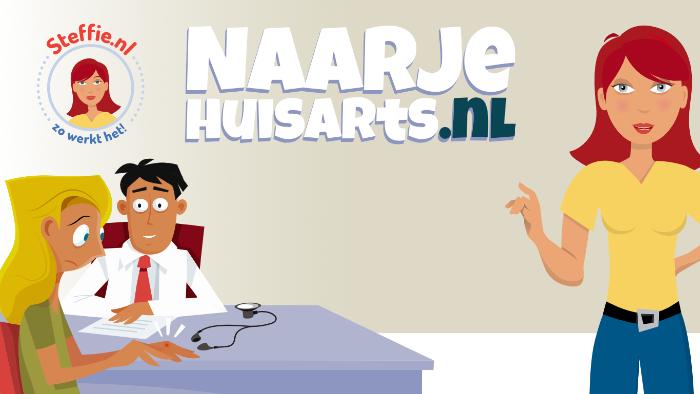 Naarjehuisarts.nl is een nieuwe website van Steffie!