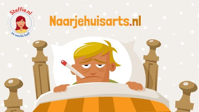 Naarjehuisarts.nl is een nieuwe website van Steffie.